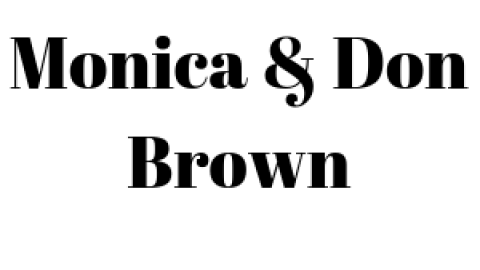 Monica & Don Brown logo