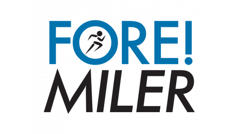 Virtual FORE! Miler logo