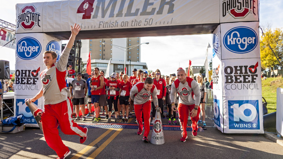 The Ohio State 4 Miler banner image