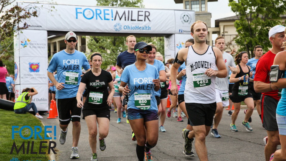 FORE! Miler presented by OhioHealth banner image