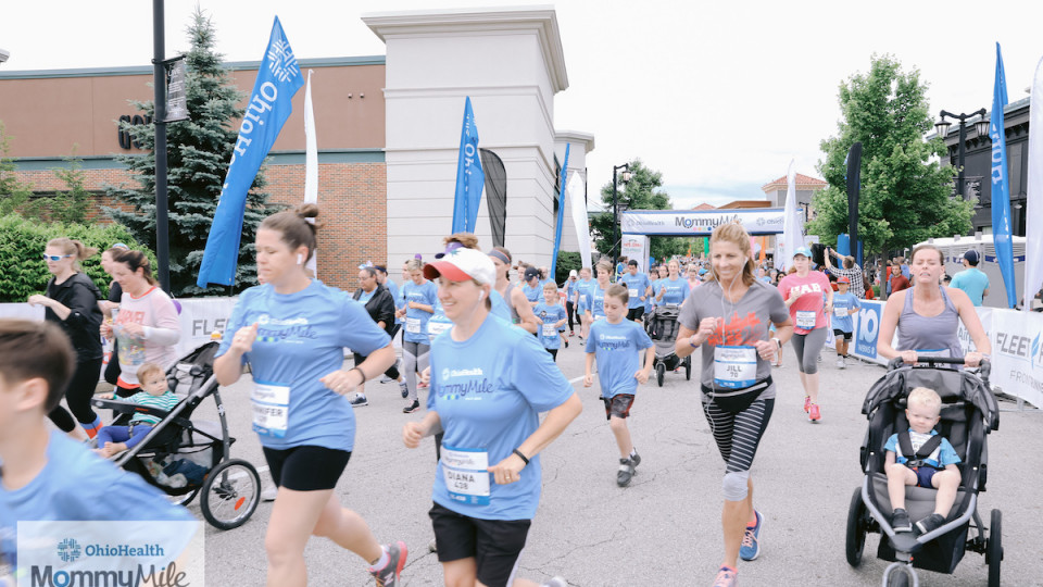 OhioHealth MommyMile banner image