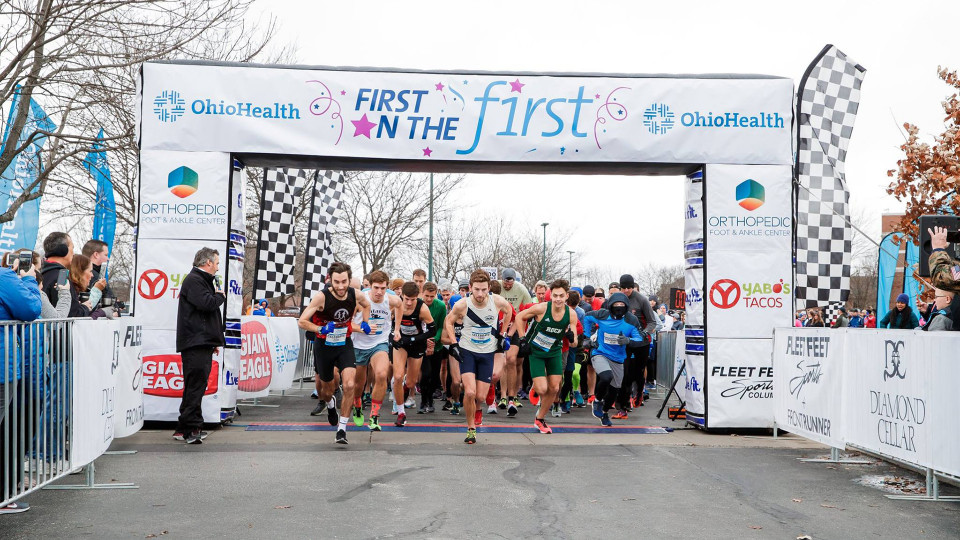 OhioHealth First On The First 5K banner image